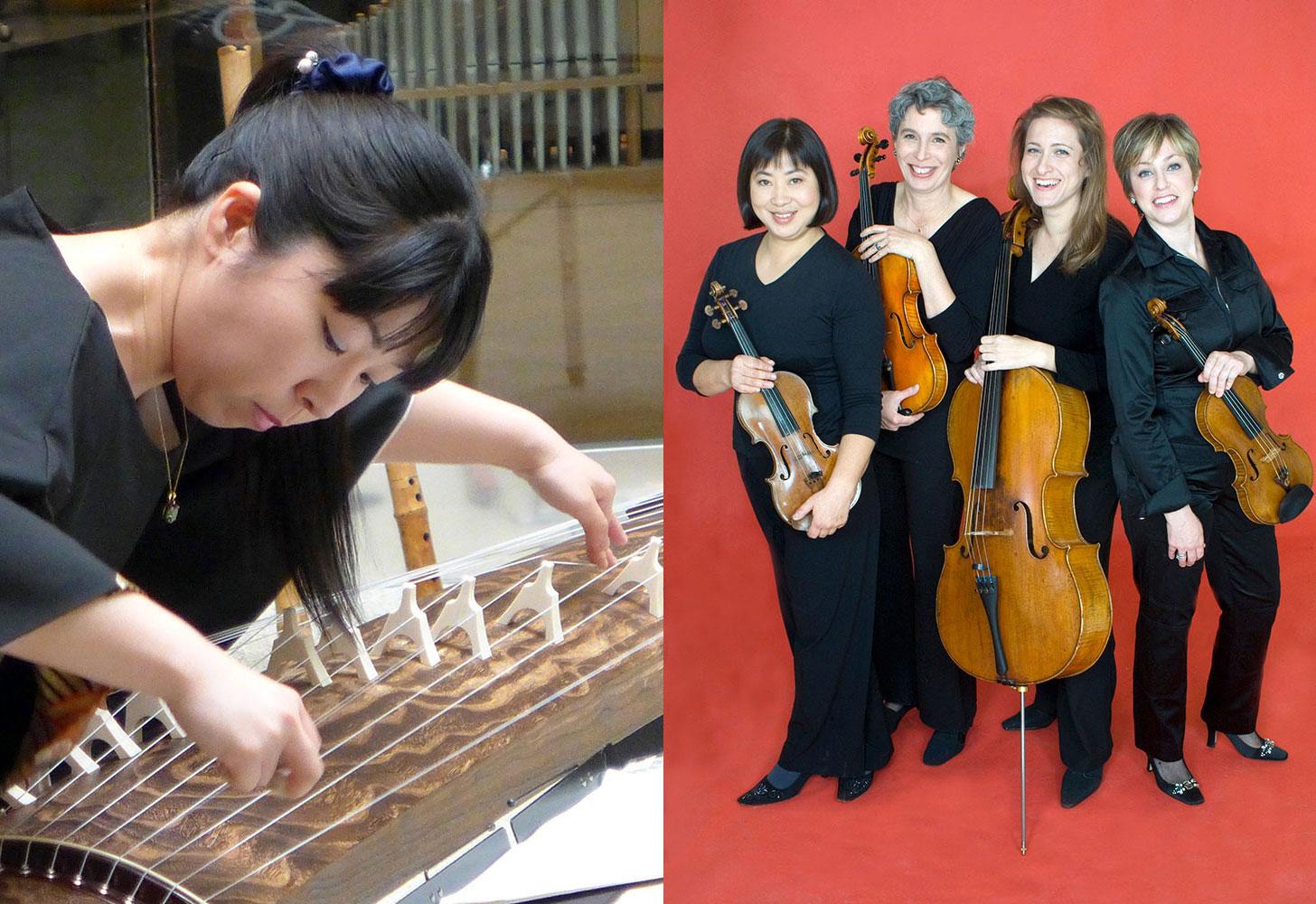 Kyo-Shin-An Arts with the Cassatt Quartet